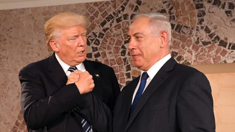 دونالد ترامب، بنيامين نتنياهو، أمريكا، إسرائيل