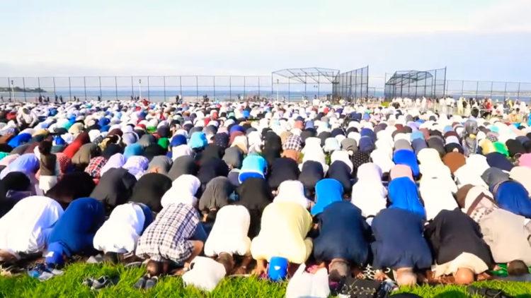 الإسلام، أوروربا, الولايات المتحدة الأمريكية