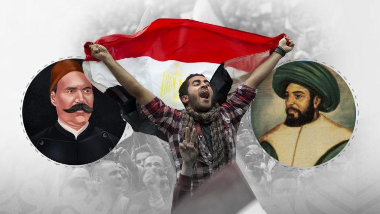 عمر مكرم و أحمد عرابي