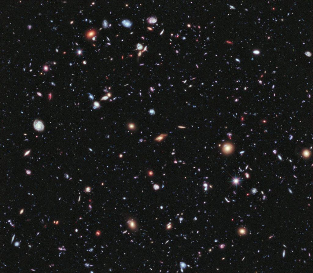 تلسكوب هابل، حقل هابل البعيد، صور فلكية، ناسا، فضلاء