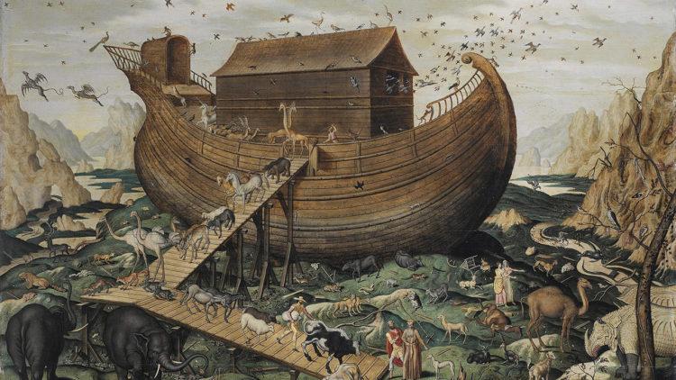 سفينة نوح، الطوفان