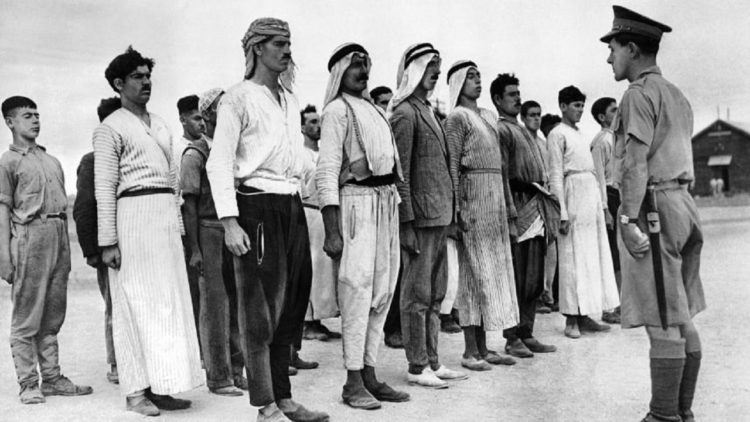 متطوعون عرب في الحرب العالمية الثانية