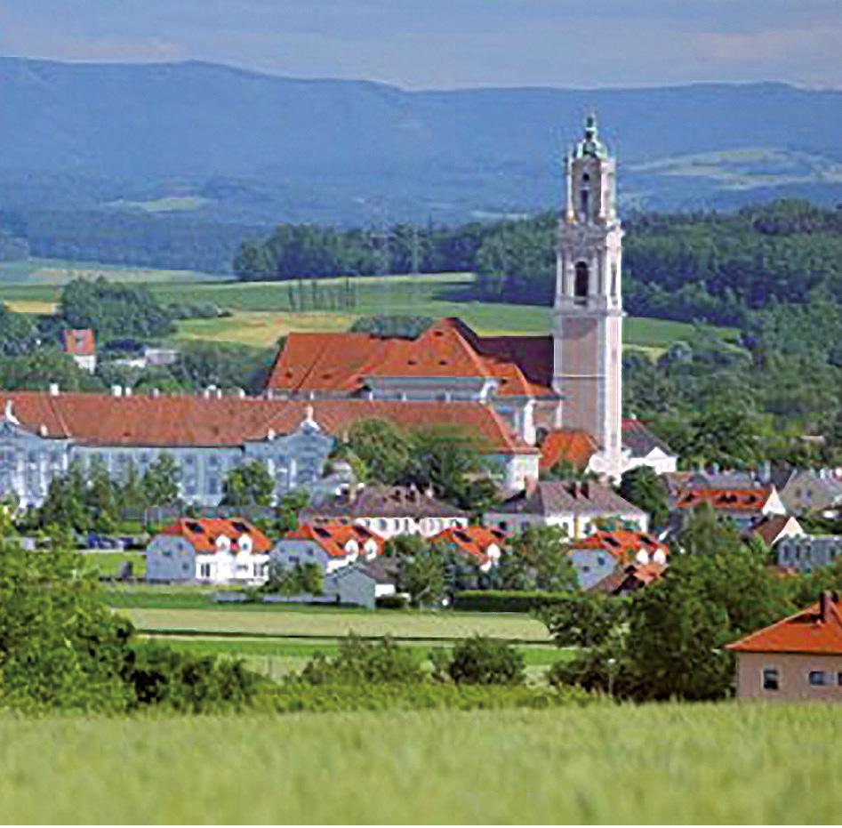 Blick auf Herzogenburg