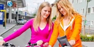 Radfahrerinnen