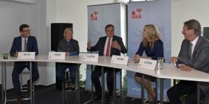 Pressekonferenz zum Regionalmanagement