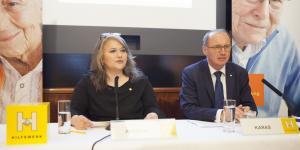 Pressekonferenz des Hilfswerks