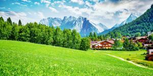 Landschaft bei Seefeld