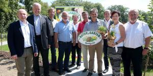 Gruppenbild der oö. Natur im Garten-Bürgermeister
