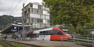 Zug in Bregenz