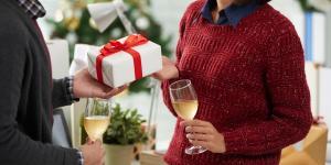Weihnachtsgeschenk vom Chef