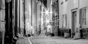 Gasse in einer Altstadt | Denkmalschutz