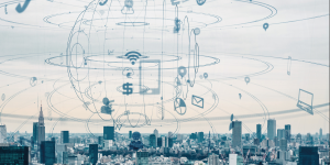 Digitalisierung in einer Großstadt