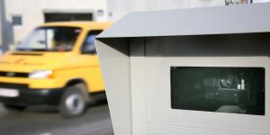 Radarbox in der Gemeinde