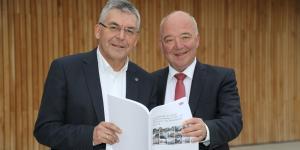 Landesrat Josef Schwaiger und Wirtschaftskammerpräsident Konrad Steindl