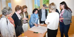 Offene Diskussion im Kultursaal der Gemeinde Lendorf