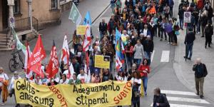 Demonstration in Bozen