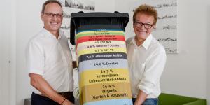 Bürgermeister Roland Wohlmuth und Landesrat Rudi Anschober