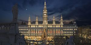 das Wiener Rathaus
