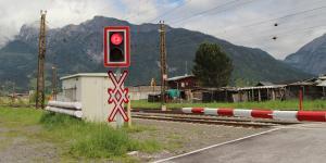 Eisenbahnkreuzung