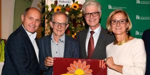 Blühendes NÖ: Vertreter der Stadt Baden