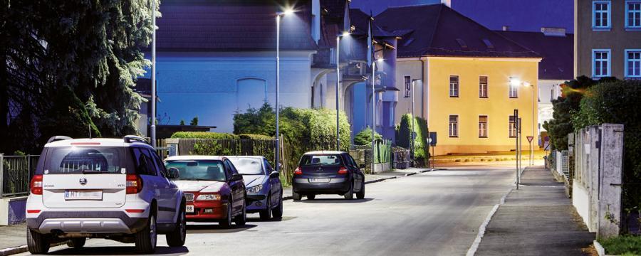 Straße in Knittelfeld