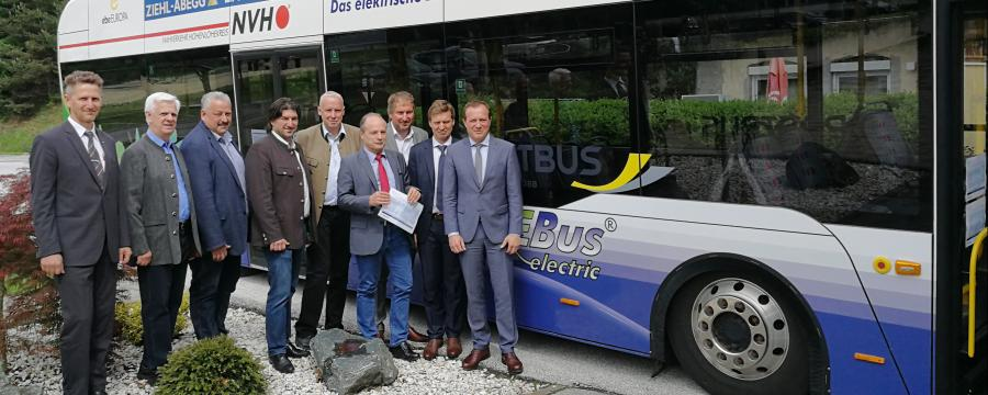 E-Bus in Bleiburg