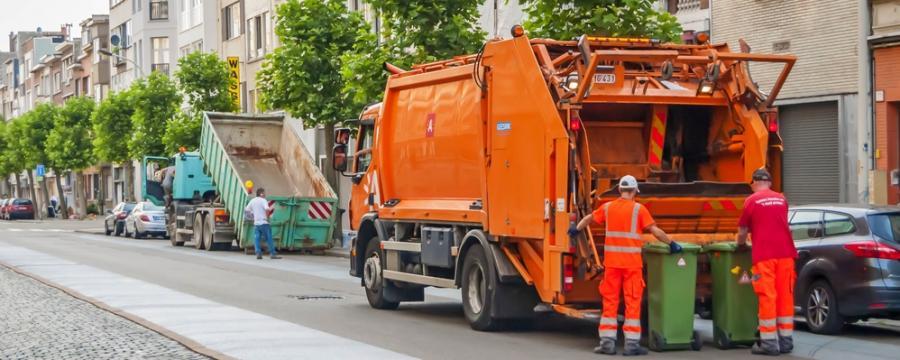 Müllfahrzeug