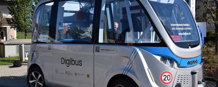 selbstfahrender Bus