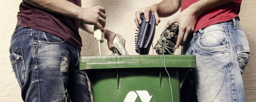 Entsorgung von Elektroschrott