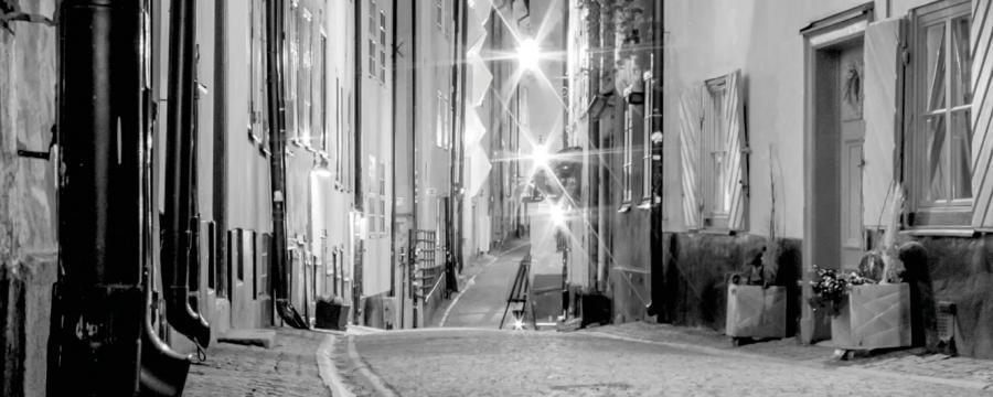 Gasse in einer Altstadt   Denkmalschutz