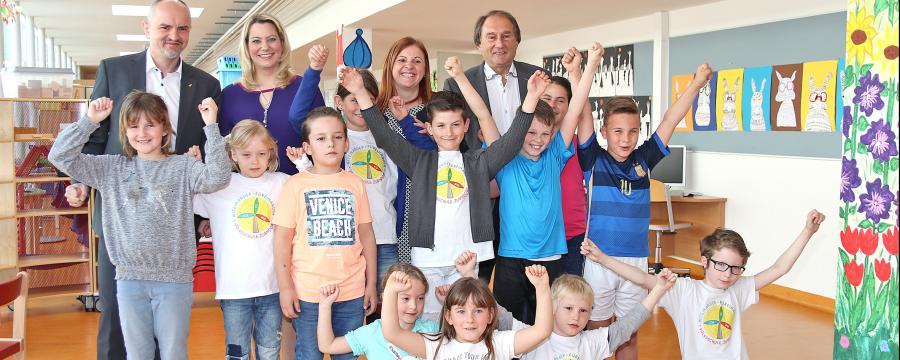 Studienpräsentation in der Volksschule Zurndorf