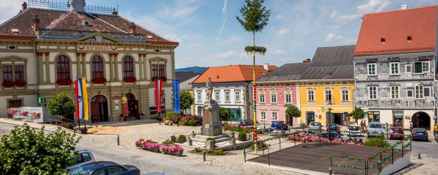 Das Rathaus von Weitra