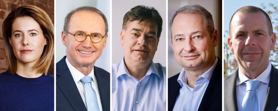 Die Spitzenkandidaten der EU-Wahl 2019