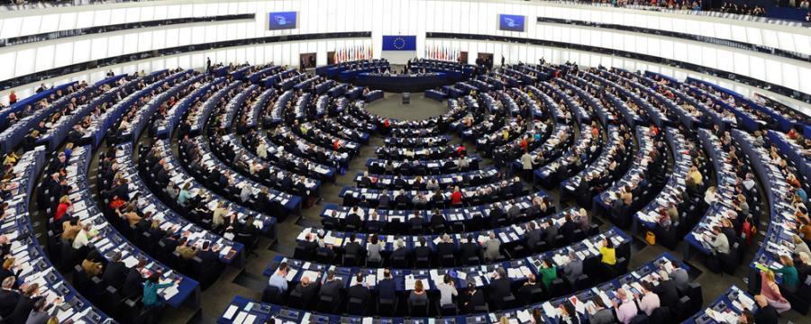 europäisches Parlament in Strassburg