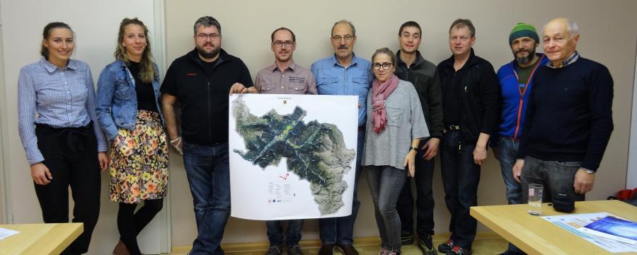 Klima-Projektgruppe in Pfunds