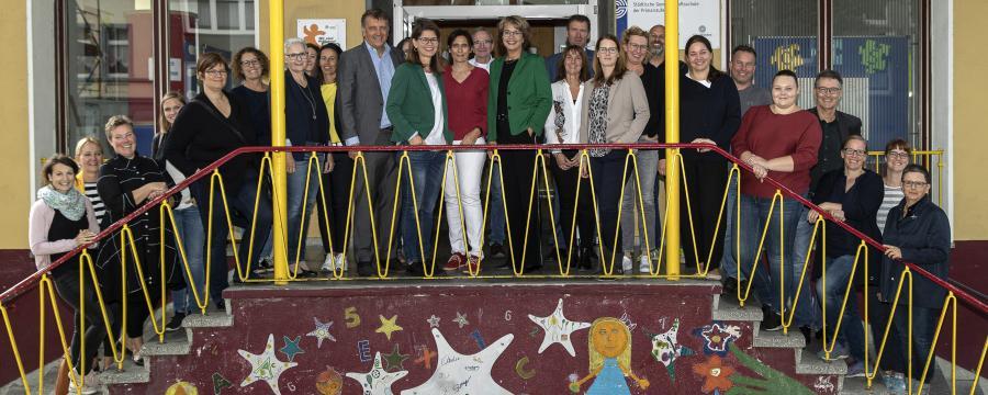Die Teilnehmer an der Exkursion nach NRW