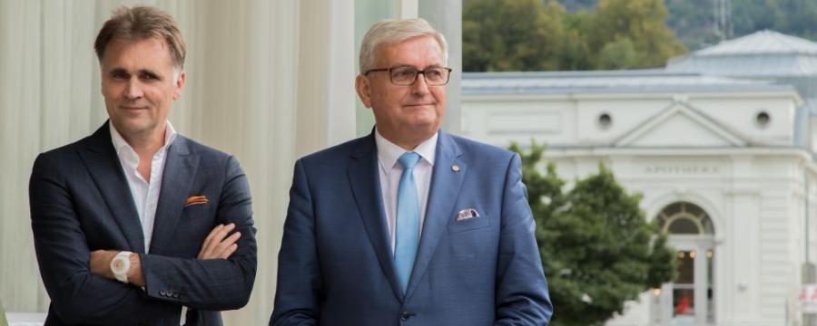 Kommunalkredit-Chef Bernd Fislage und Gemeindebund-Präsident Alfred Riedl