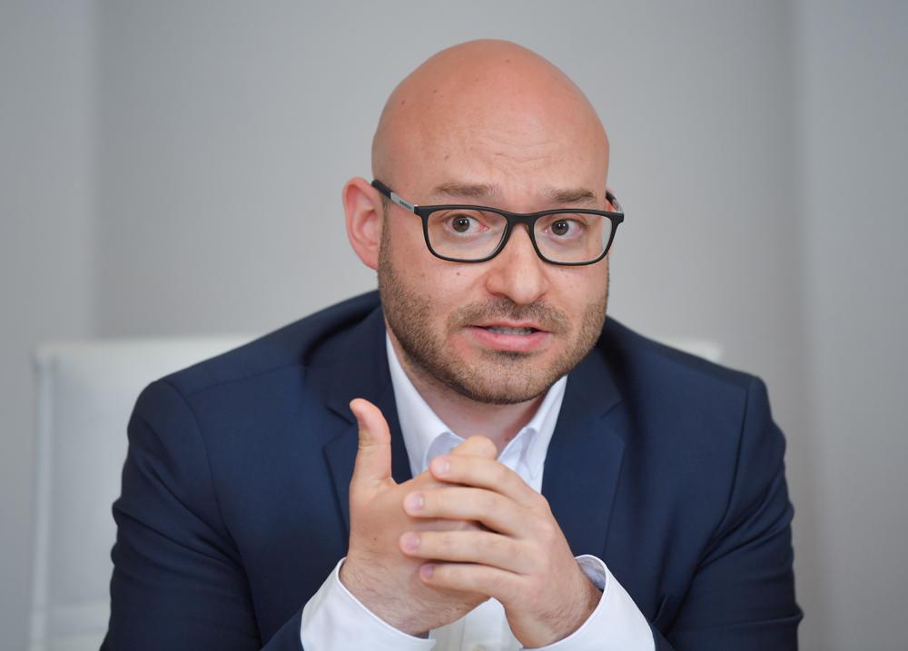 Der Oberbürgermeister von Frankfurt/Oder Rene Wilke