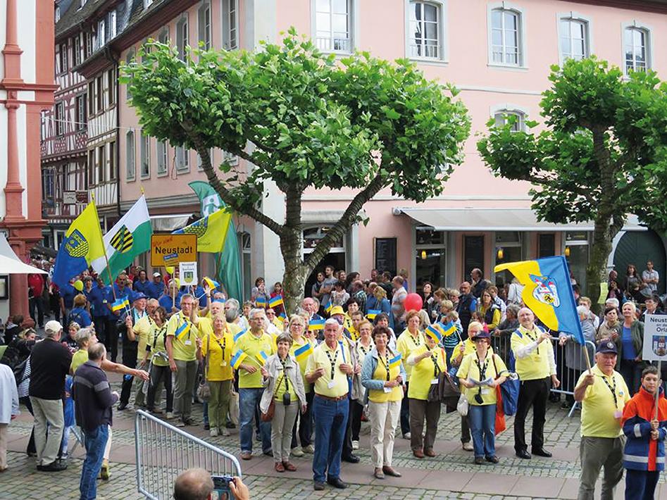 Neustadt in Europa Umzug