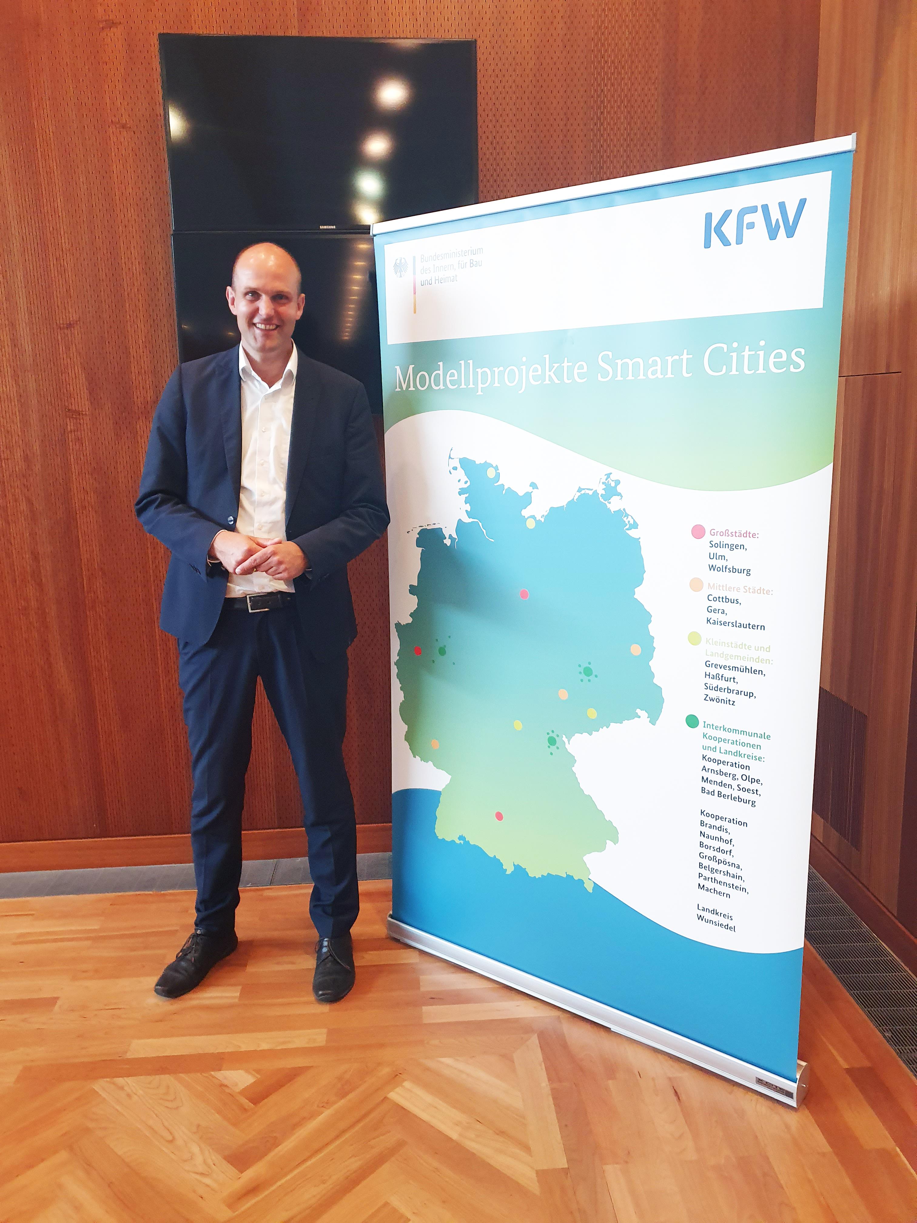 Lars Prahler ist Bürgermeister von Grevesmühlen
