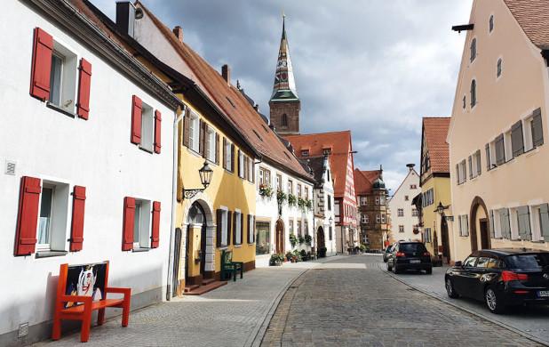 Die Altstadt von Wolframs-Eschenbach