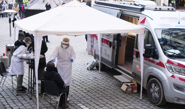 Arztmobil der Tübinger Ärztin Lisa Federle