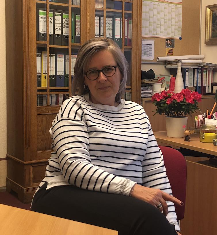 Ostritz Bürgermeisterin Marion Prange