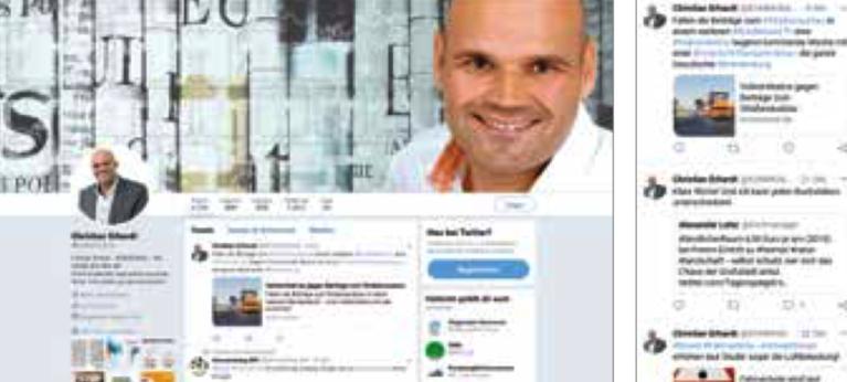 Frech, provokant, meinungsstark: Folgen Sie Christian Erhardt bei Twitter unter www.twitter.com/kommunalde