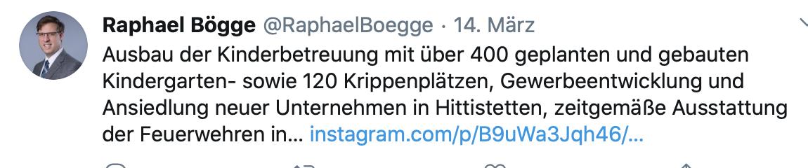 Kommunalwahlen Bögge