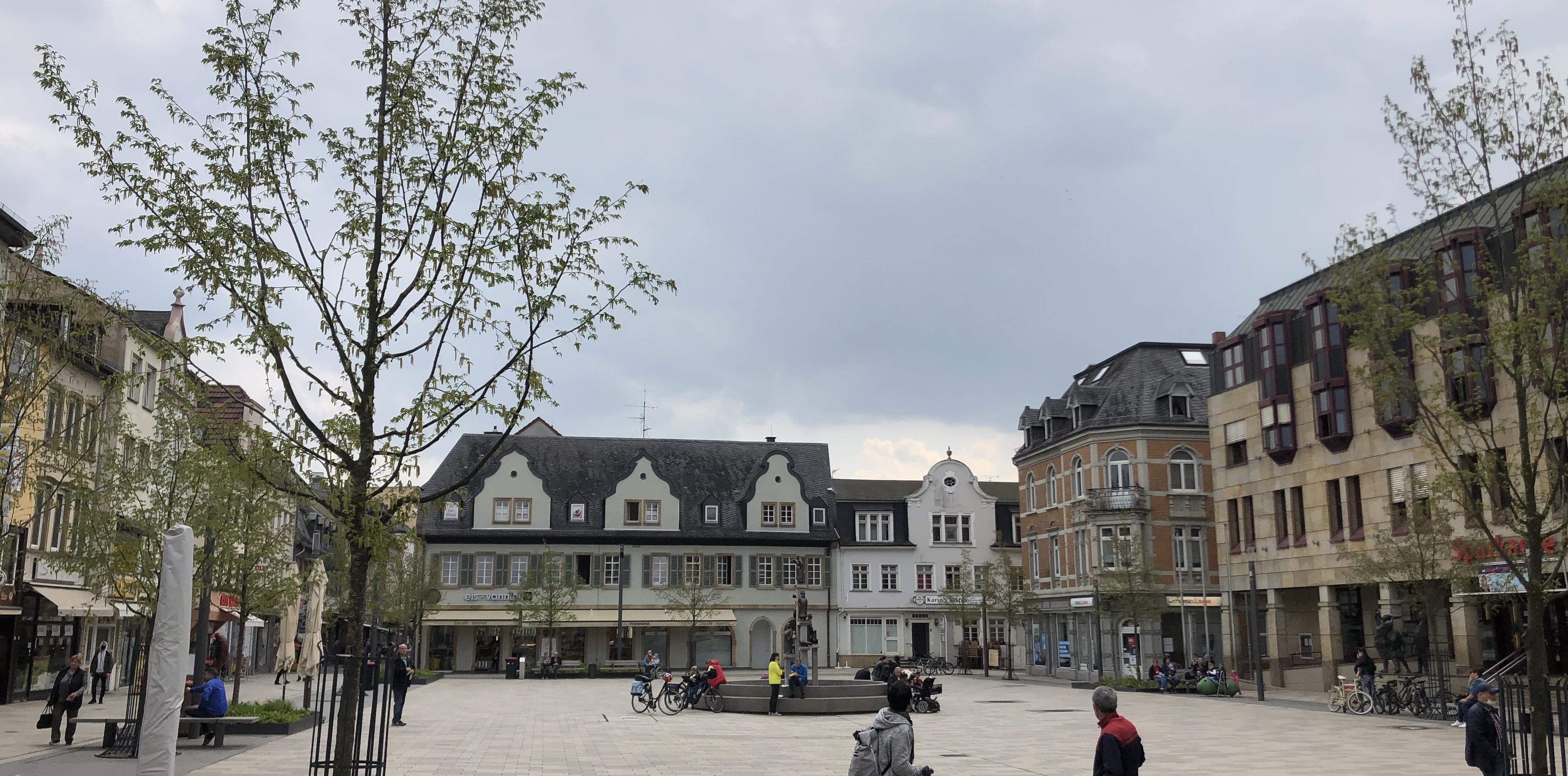 Bad Kreuznach im Frühjahr 2021