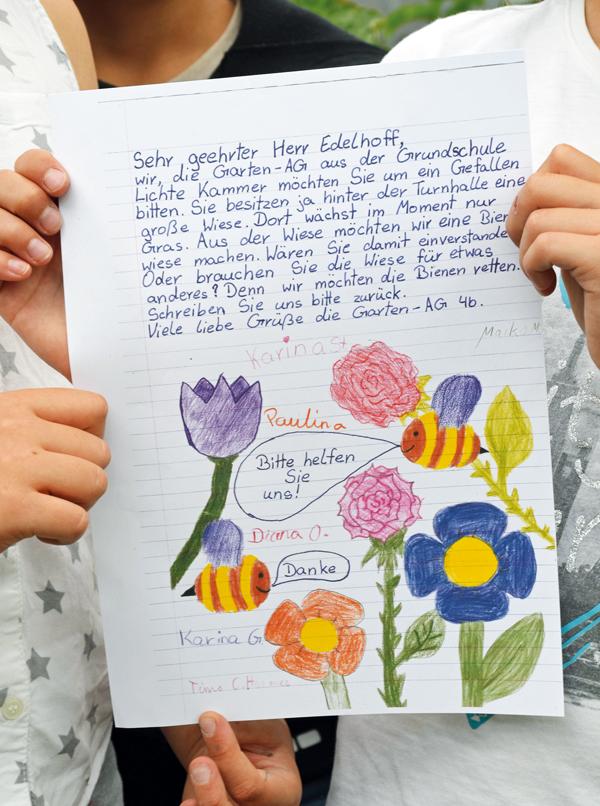 Hochwertige Lebensräume Schulbrief