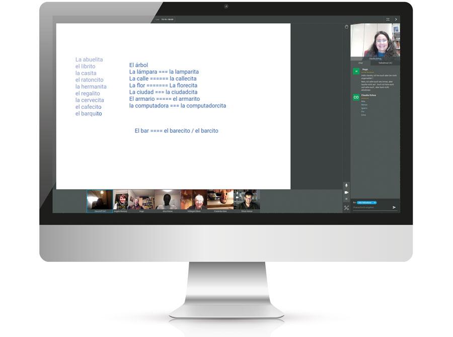 Digitales Lernen Volkshochschule im virtuellen Klassenzimmer