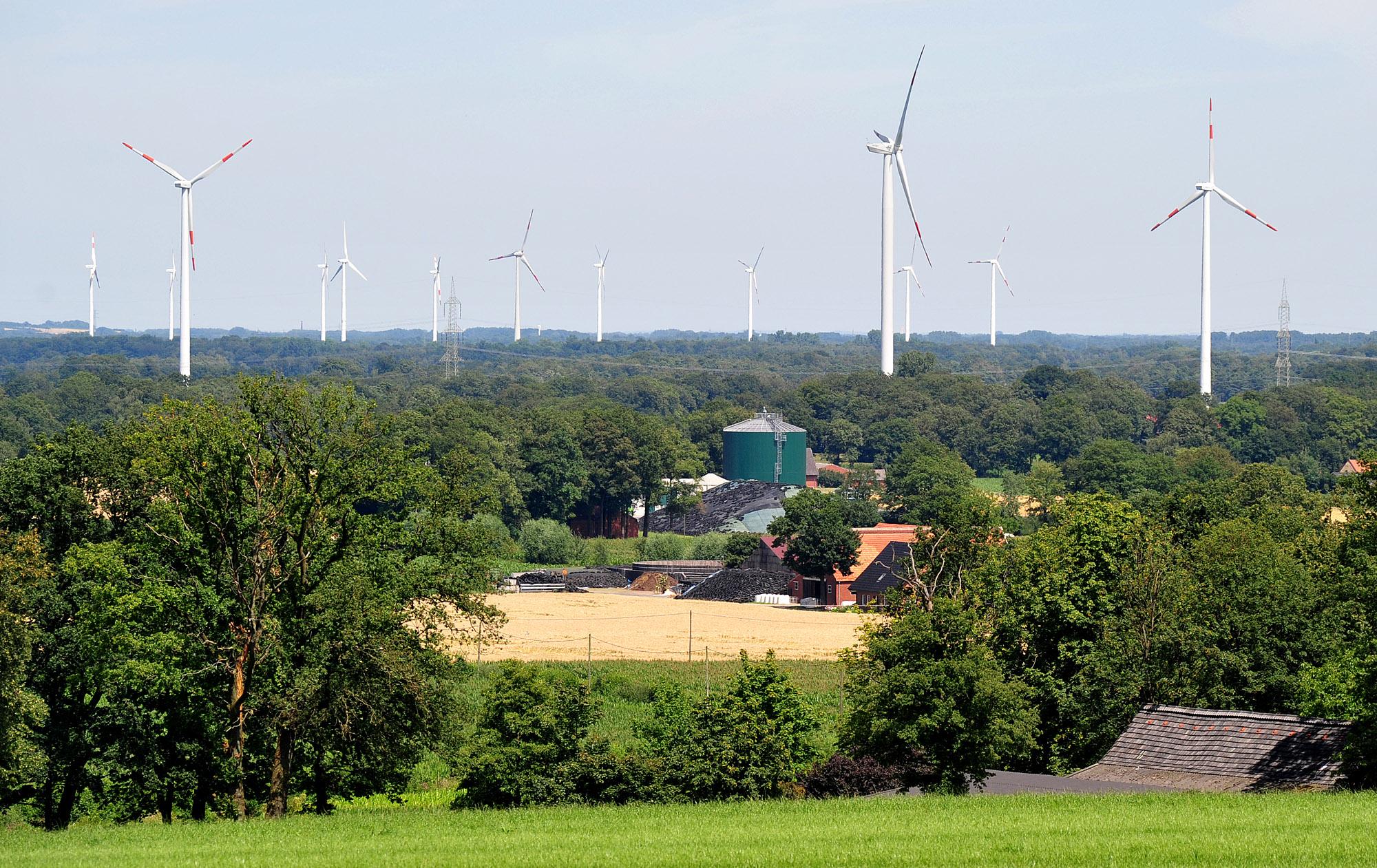 Kommunale Energiewende Windanlagen Kreis Steinfurt