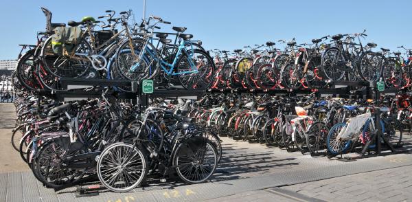 Fahrrad-Abstellanlage